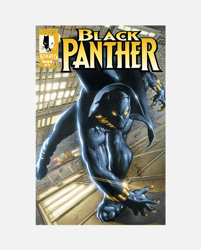 Code for Marvel Black Panther (1998) #1 Digital Comic