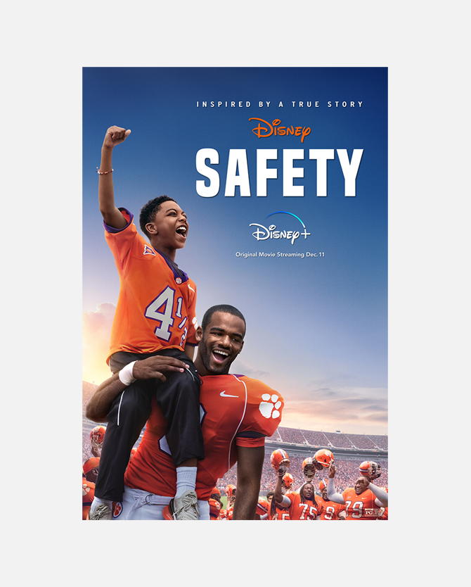 Safety On Disney+ One Sheet Poster