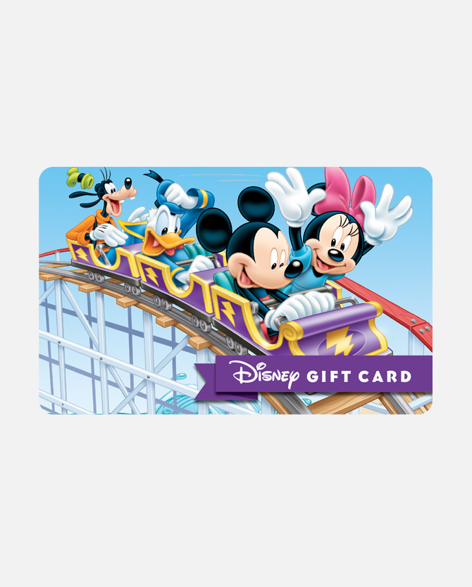 $25 Disney Gift Card - Crazy Coaster