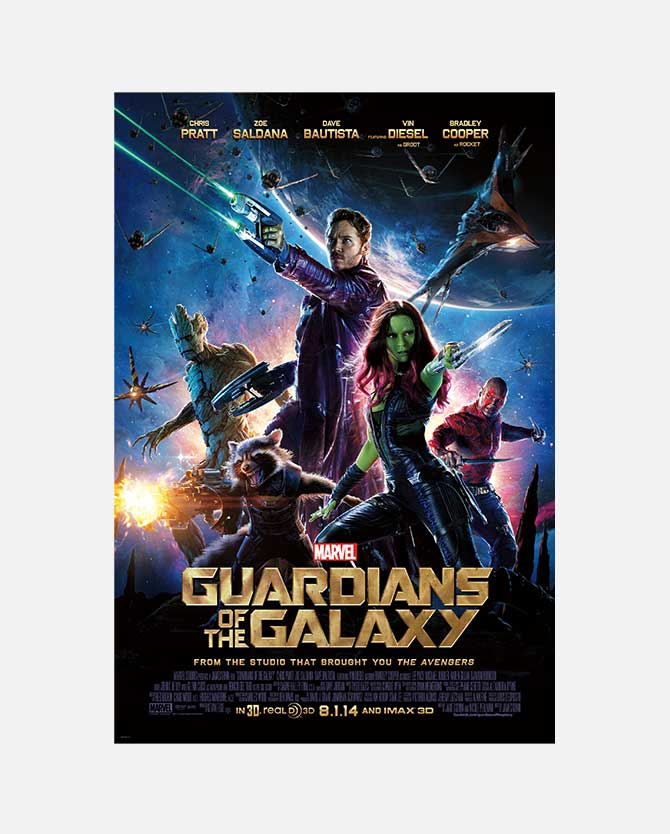 Marvel Studios' Guardians Of The Galaxy Final One Sheet Poster