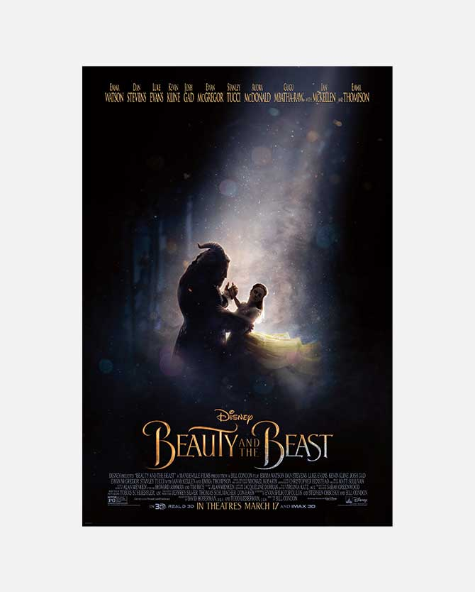 Beauty And The Beast Teaser #2 Poster