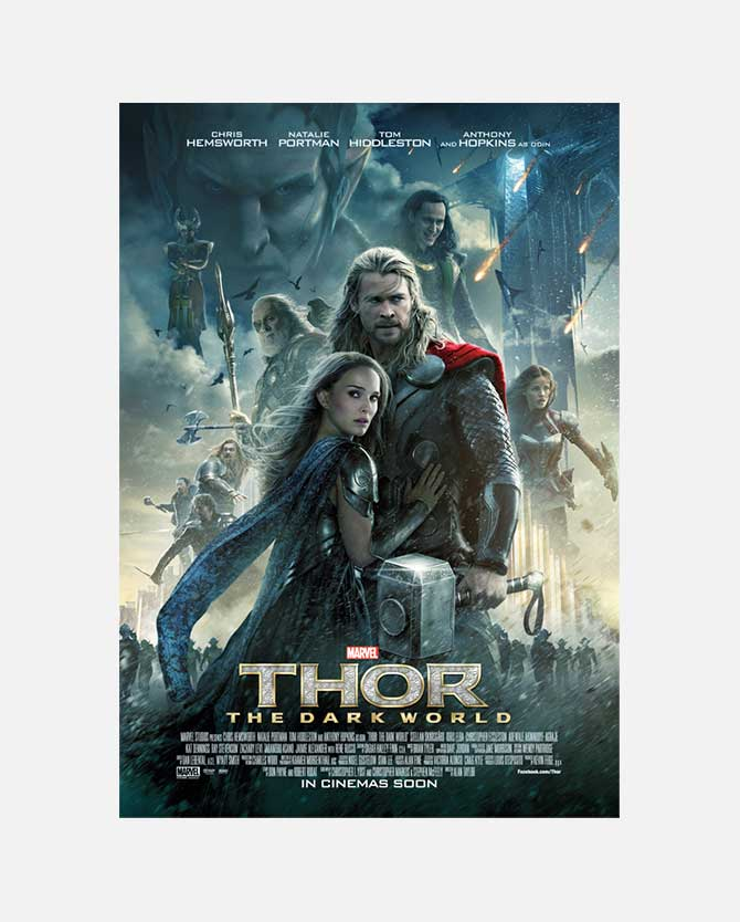 Marvel Studios' Thor: The Dark World Final One Sheet Poster