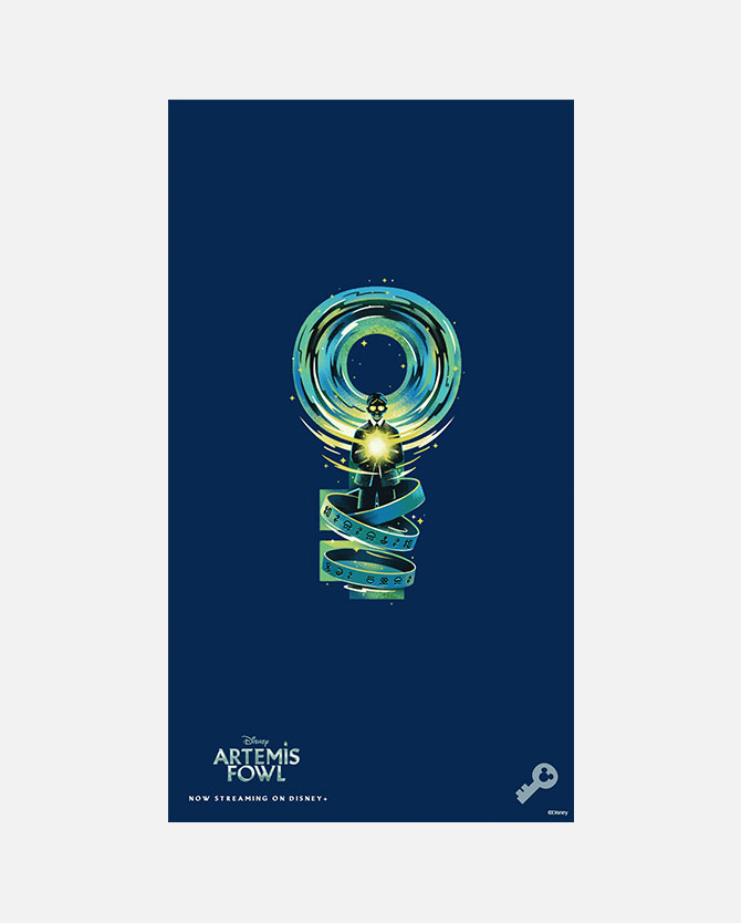 Artemis Fowl Digital Key Art