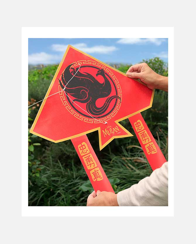 Mulan Kite Printable Activity