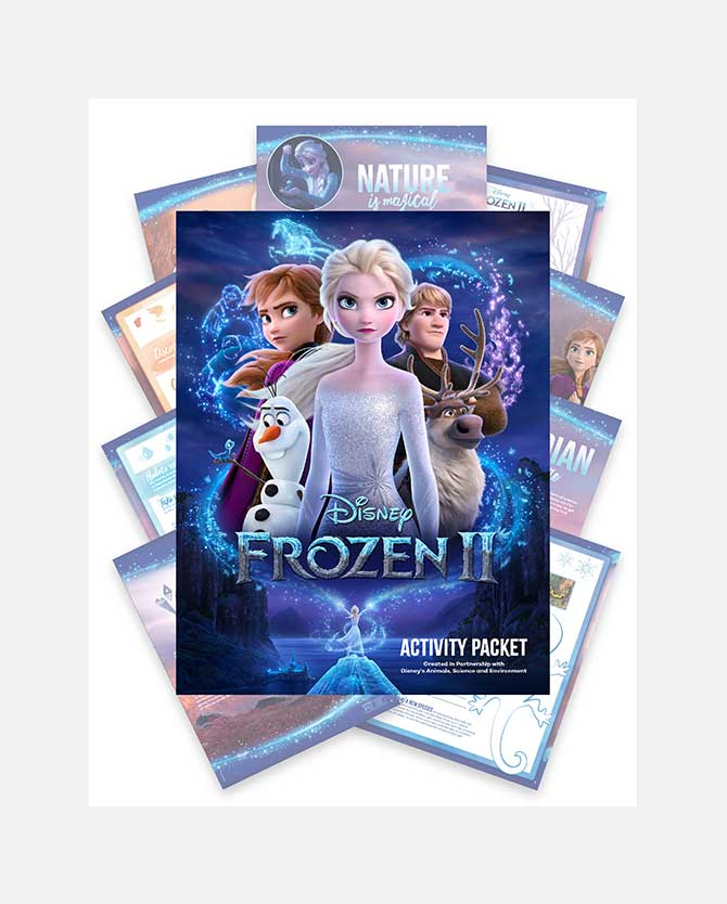 Frozen 2 Printable Activity Packet