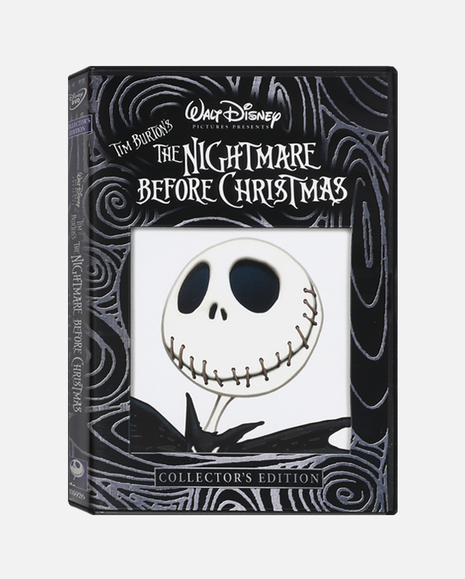 The Nightmare Before Christmas Collector's Edition DVD