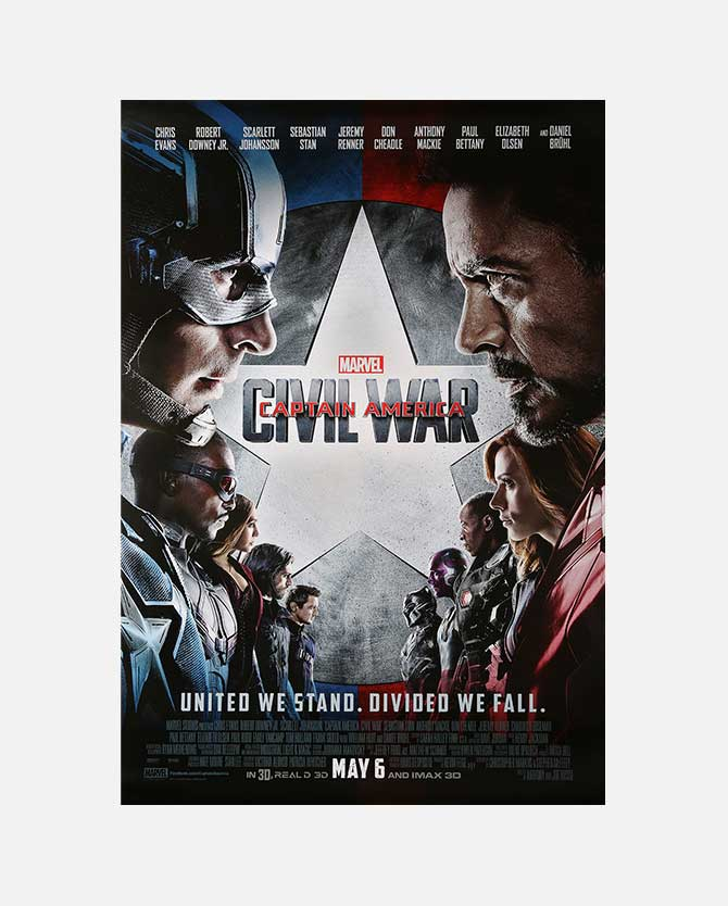 Marvel Studios' Captain America: Civil War Final One Sheet Poster