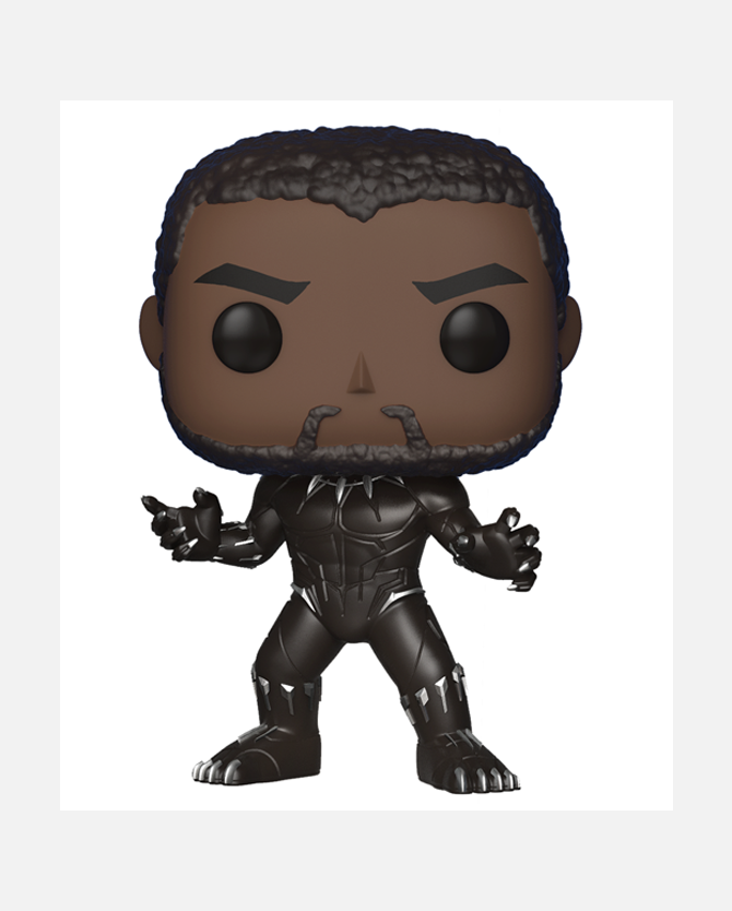 Marvel Studios' Black Panther Pop! - Black Panther (with Chase)