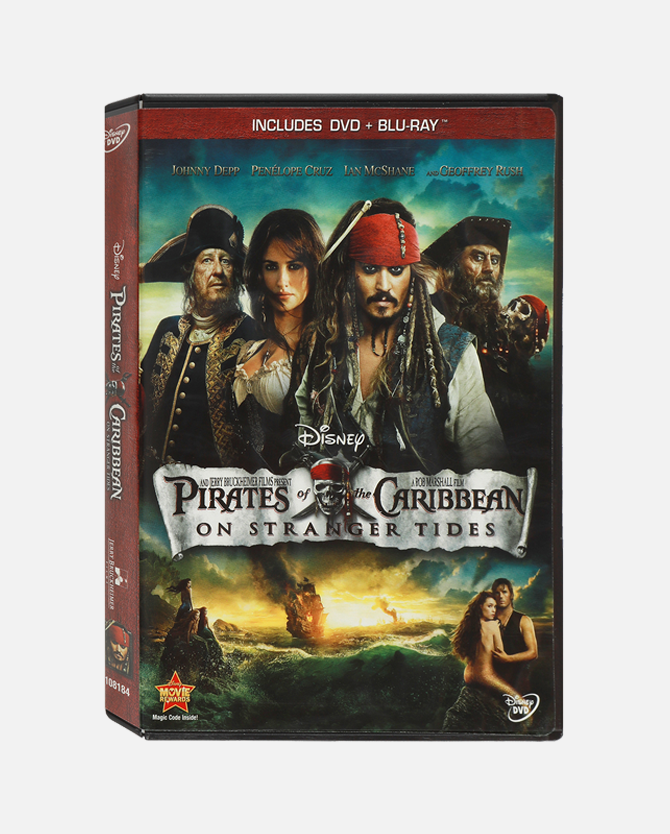 Pirates Of The Caribbean: On Stranger Tides Blu-ray Combo Pack