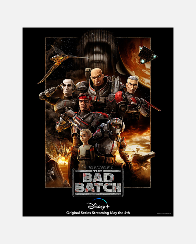 Star Wars: The Bad Batch Payoff One Sheet