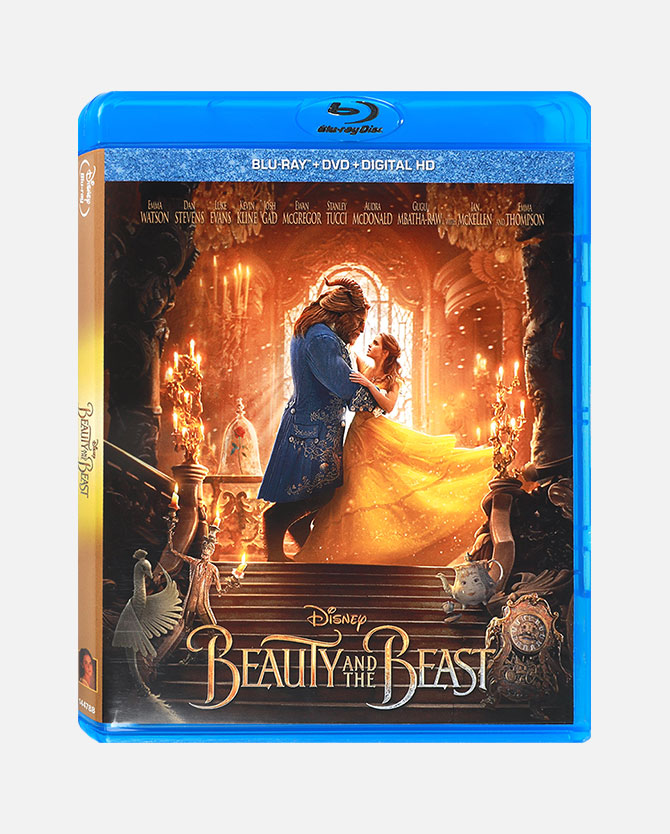 Beauty And The Beast (2017) Blu-ray Combo Pack + Digital Code