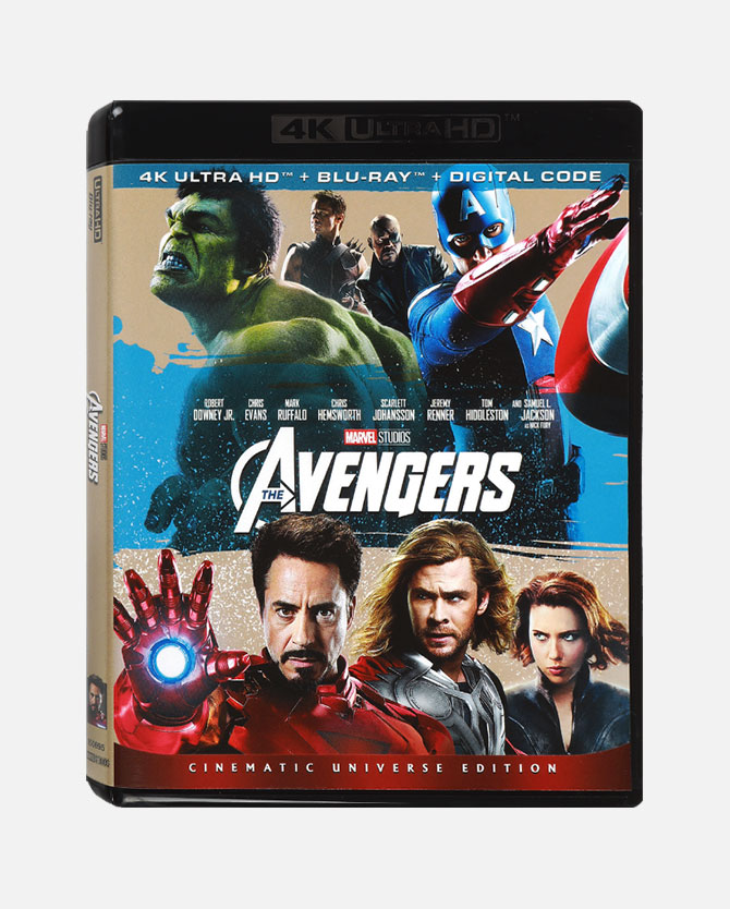 Marvel Studios' The Avengers Blu-ray + 4K Ultra HD + Digital Code
