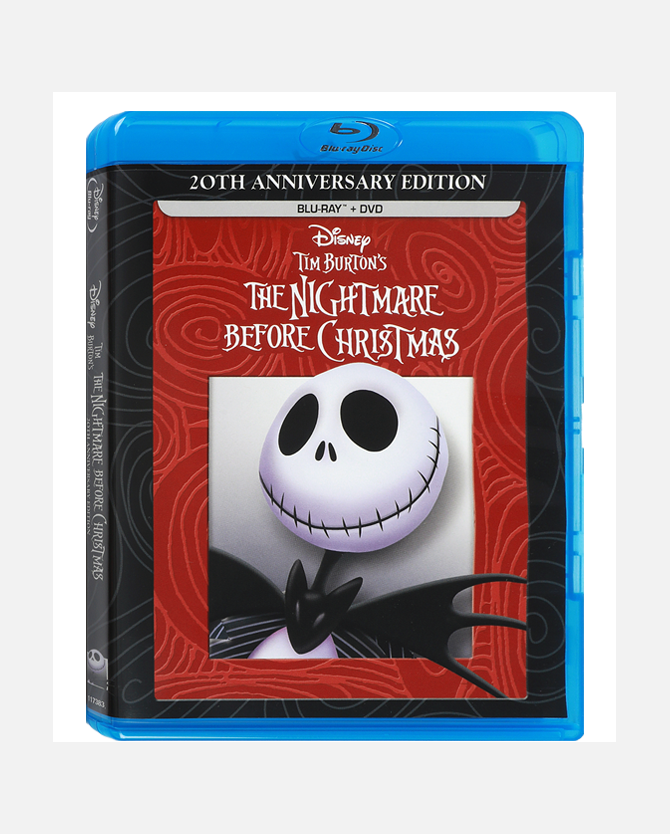 The Nightmare Before Christmas 20th Anniversary Edition Blu-ray Combo Pack