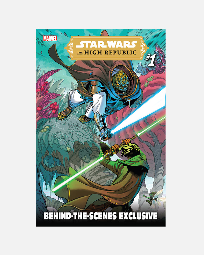 Code for Marvel Star Wars: The High Republic #1 Behind-the-Scenes Exclusive (2021) Digital Comic