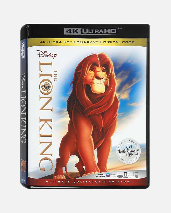 The Lion King Blu-ray + 4K Ultra HD + Digital Code