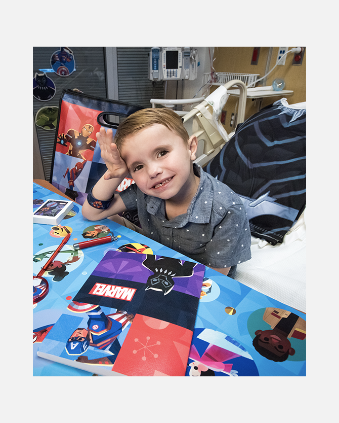 Deliver Comfort and Inspiration To Children's Hospitals!*