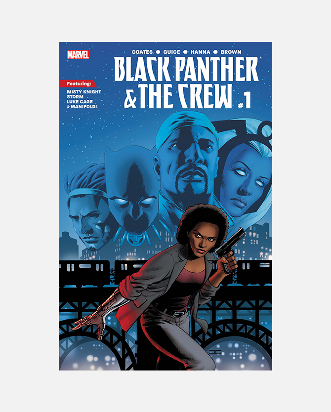 Code for Marvel Black Panther and The Crew #1 Digital Comic