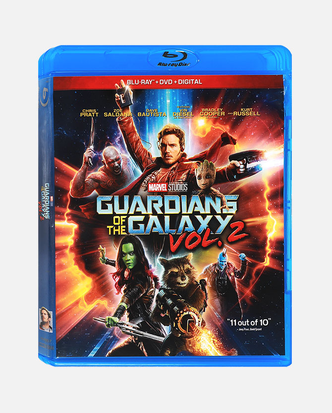Marvel Studios' Guardians Of The Galaxy Vol. 2 Blu-ray Combo Pack + Digital Code