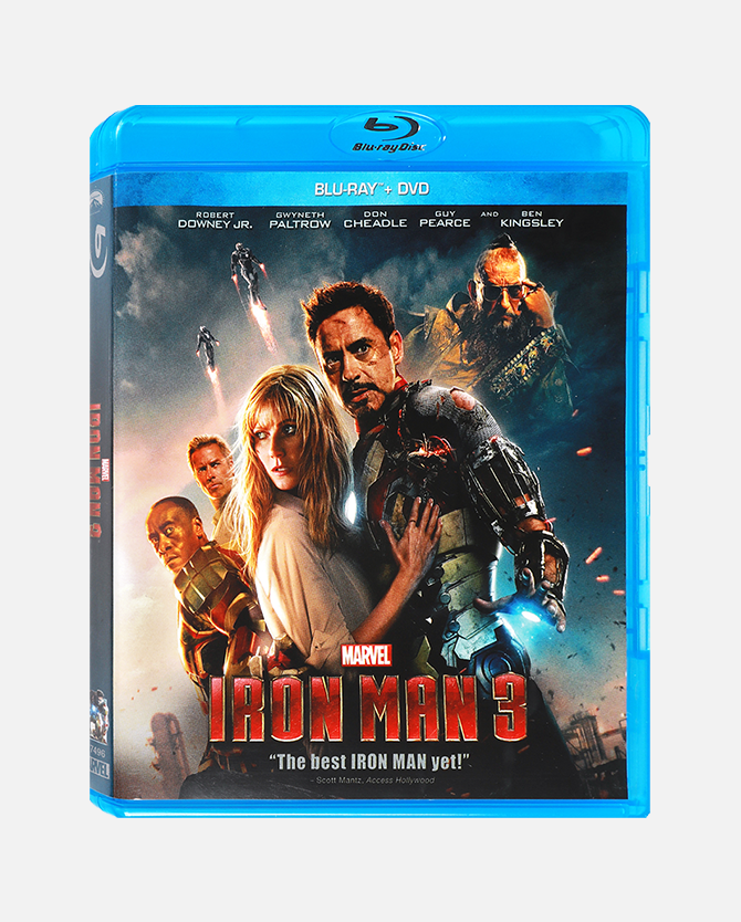 Marvel Studios' Iron Man 3 Blu-ray Combo Pack