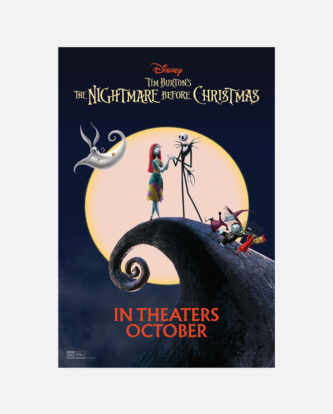 The Nightmare Before Christmas One Sheet Poster