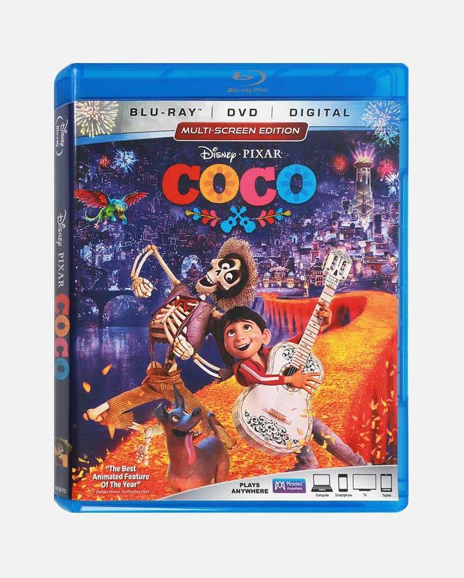 COCO Blu-ray Combo Pack + Digital Code