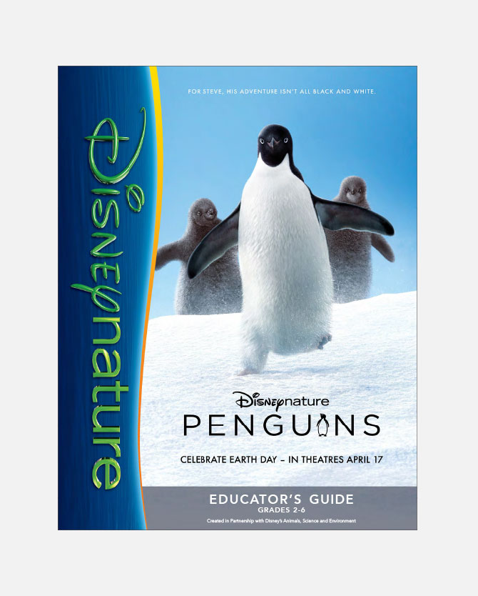 Disneynature Penguins Educator's Guide Printable