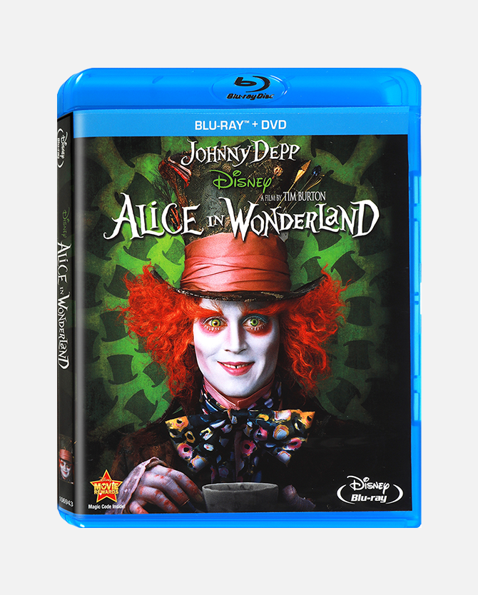 Alice In Wonderland Blu-ray Combo Pack