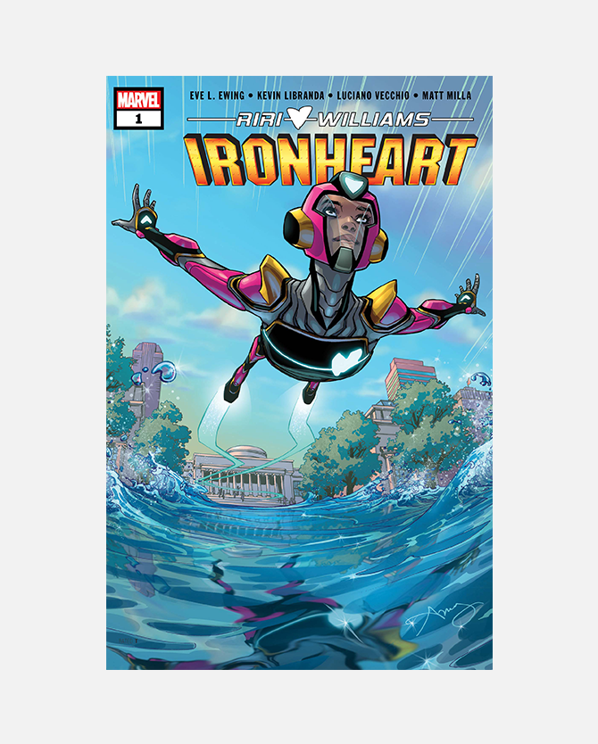 Code for Marvel Ironheart #1 Digital Comic