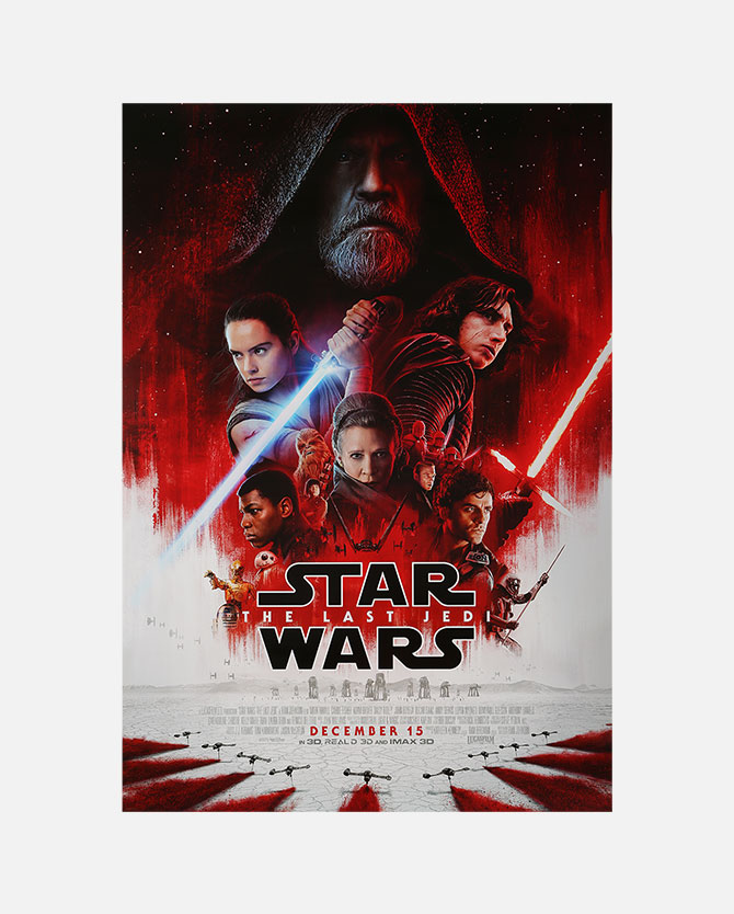 Star Wars: The Last Jedi Final One Sheet Poster