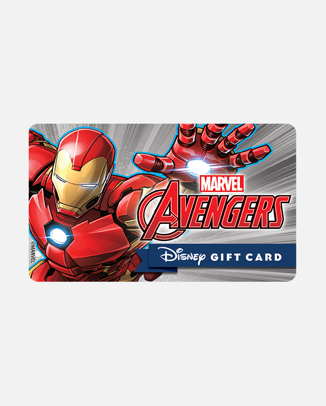$50 Disney Gift Card eGift, Marvel Avengers