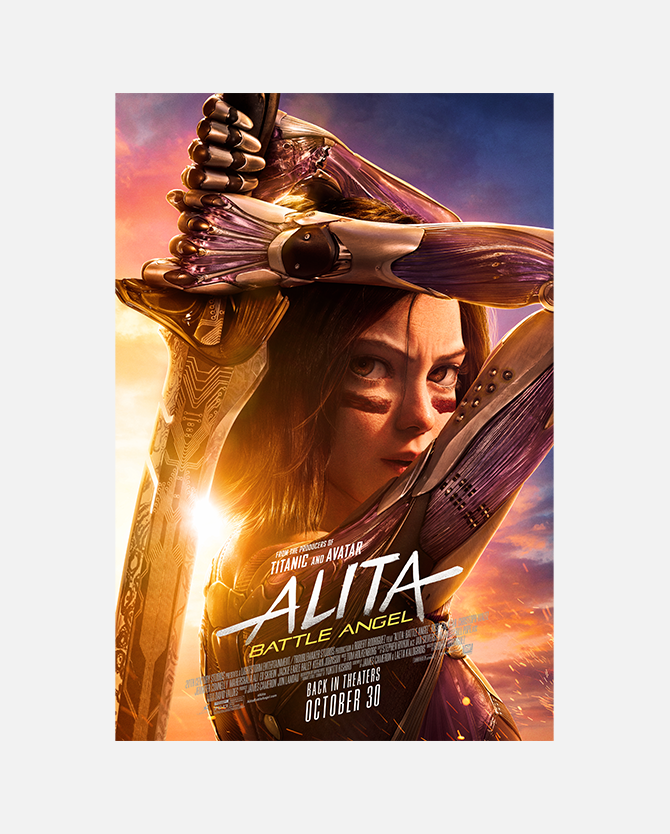 Alita Battle Angel Mini Poster