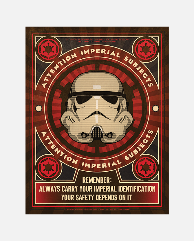 Star Wars Imperial Propaganda Printable Poster