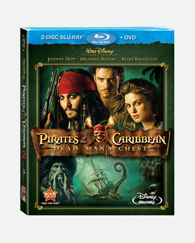 Pirates of the Caribbean: Dead Man's Chest Blu-ray Combo Pack